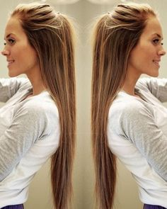 My hair inspiration. One day I will have hair this long! <3