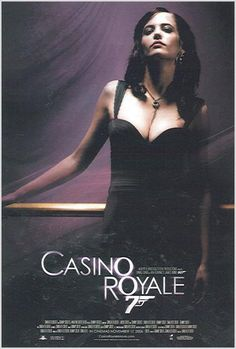 Casino royale - stick it on your wall James Bond Casino Royale, Casino Royale Movie, Casino Royale Dress, Casino Movie, Casino Dress, Casino Outfit, Casino Games, Eva Green Casino Royale, Casino Party Foods