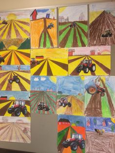 3-4 lk Myllykangas/ Traktorit ja perspektiivi