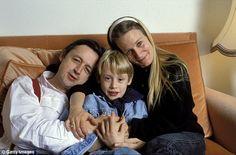 Big break: Macaulay Culkin and his parents.