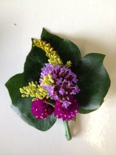 Summer bright buttonhole