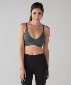 253a901252efa Lululemon Lean In Bra - Dark Forest - lulu fanatics