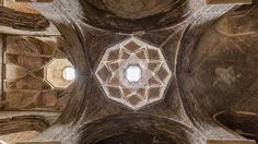 picture of the day Dome in the interior of the Jameh Mosque of Isfahan Isfahan Iran. The mosque a UNESCO World Heritage site is one of the oldest still standing buildings in Iran and it has been continuously changed its architecture since it was erected in 771 until the 20th century.