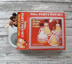 Wilton Cake Pan Mini Cake Pan Petite Doll Cake Pan by SeeDollyRun
