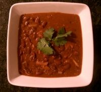 I don't love the way I make Rajma now. Maybe I'll try this instead. It looks easy.