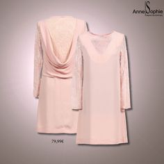 """Casual chic 2015 pink dress. Anne-Sophie SMARTSHOPPING offers a feminine ready-to-wear """"Casual Chic"""" collection for a year-round feminine look."""
