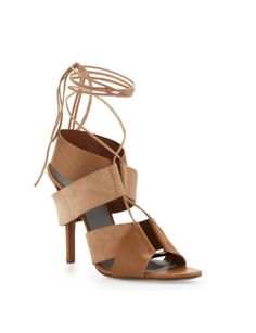 ALEXANDER WANG Malgosia Leather & Suede Sandal