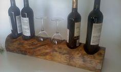 Items similar to Holiday Mantle Wine Bar on Etsy