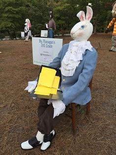 Book Character Costumes, Book Characters, Edward Tulane, Scarecrow Festival, You Poem, Scarecrows, Love People, Black Belt, Some Fun