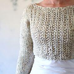 Knit quick sweater. Ravelry pattern
