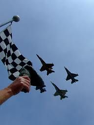 Fly Over at the Indy 500