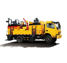 High degree of automation of the road integrated maintenance vehicles
