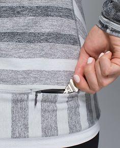 Hidden pocket idea Sports shirt