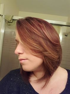 roll hair style ombre by tang and using hair 4683