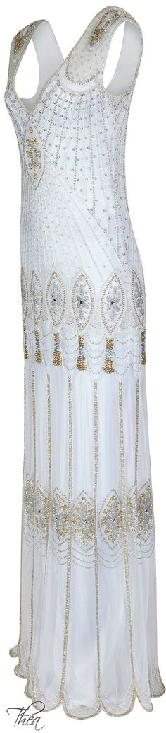 Vicky Rowe beaded gown | House of Beccaria#
