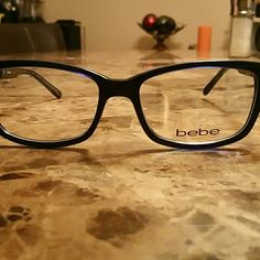 fcaa6b01cb bebe frames navy blue Brand New bebe Accessories Glasses