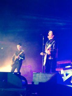 Patrick & Joe; Fall Out Boy. 25/6/14