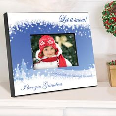 Personalized Holiday Picture Frame – Personalized Gifts