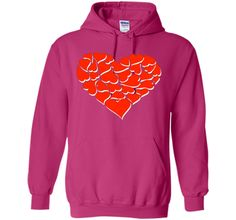 Valentines Day heart Shirt For Kids Women Couples