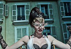 a visionary story: lara stone, molly bair and tyson ballou by steven klein for vogue italia january 2015