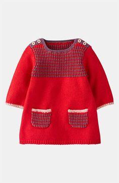 ...this brand! Mini Boden 'Stripy' Knit Dress (Infant) | Nordstrom
