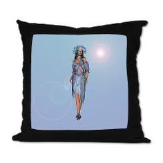 #Winter #Girl Suede #Pillow> Winter> Your #Fantasy World