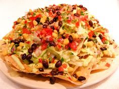 Crab Nachos   Serves 24 Nachos  Get The Recipe @   http://www.facebook.com/urbanfoodie   #CincodeMayo
