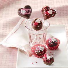Valentine Truffles & Truffle Pops