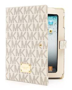 MICHAEL Michael Kors iPad Logo Stand, Vanilla - Neiman Marcus