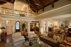 wide open floor plan