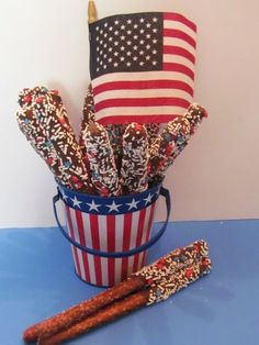 Cute idea for 4th of July, or modified slightly for birthdays, etc too