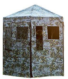 Rusk Camo Cabin Four Man Hub Blind