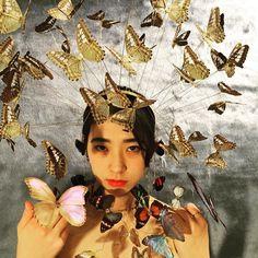 #jewelrygram #headpiece #jewelry #headpieces #art #interior #earings #rings photo by Maki Taguchi model :  絢美  ayami by 29kasumi29