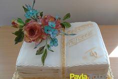 dort kniha s kytici Decorative Boxes, Cake, Desserts, Home Decor, Tailgate Desserts, Deserts, Decoration Home, Room Decor, Kuchen