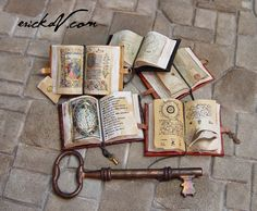 some new goodies..             Please check out these links for more photos:   Celestial Instruments   Decorated Books                    ...