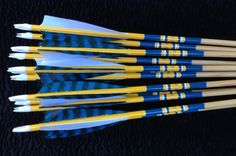 Northwest Archery LLC - Custom and Deluxe Arrows - Ready to go - Traditional Archery - Arrows made by Suzanne St. Archery Tips, Archery Arrows, Archery Hunting, Bow Hunting, Archery Targets, Archery Gloves, Bow Quiver, Wood Arrow, Kayaking Gear