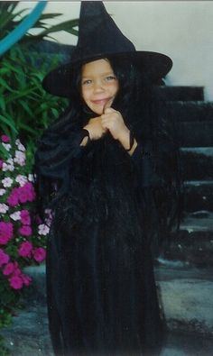 i was also a witch one year... so creative!