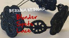 BERNINA Webinar: Venindegave med blonder