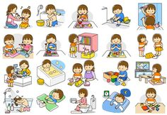 1 million+ Stunning Free Images to Use Anywhere Indoor Activities For Kids, Educational Activities, Toddler Activities, Daily Routine Activities, Kids Background, Kids Schedule, Free To Use Images, Preschool Art, Lessons For Kids