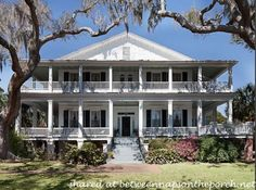 "Antebellum House in Beaufort, SC built in 1853.  Used in the filming of the movies, The Big Chill"" and ""The Great Santini"""