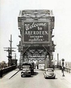 Aberdeen WA | ... Street) is constructed in Aberdeen, Grays Harbor County, in 1924