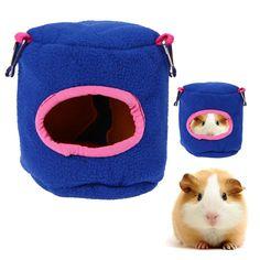 Chinchillas Squirrel Bed Nest Stump Type Pet Hammock Hamster Squirrel Warm Cotton Bird Hamster House Cage Mini Animals Nest
