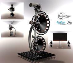 Centre piece speaker concept by Mizanur Rahman, from the UK