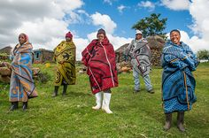 A fascinating article on the history of Basotho Heritage Blankets of the Kingdom of Lesotho