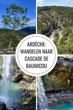 Wandelen in de Ardèche: Tétines de Vernon en Cascade de Baumicou - Passie voor Frankrijk Vernon, Places Worth Visiting, Camping, Travel List, France Travel, Holiday Travel, Van Life, Places To See, Wander