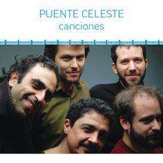 Canciones, de Puente Celeste. Booklet tapa. Diseño y realización Carlos Carpintero.