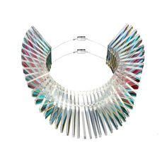 Sarah Angold Studio at Boticca.com Dragon acrylic necklace from Boticca