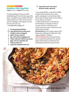"""""""Make It Quick"""" from Simple & Delicious, Oct/Nov 2017. Read it on the Texture app-unlimited access to 200+ top magazines."""