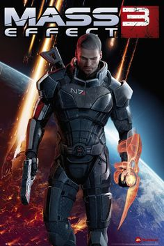 Mass Effect 3 - Xbox 360 (2012). An emotionally charged end to one of the greatest video game trilogies EVER!