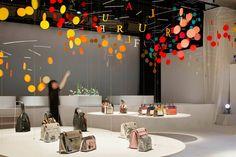Installation for FURLA | dance by Emmanuelle Moureaux